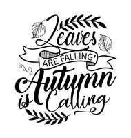 Autumn Quotes -  Leaves are falling Autumn is calling