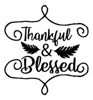 Fall Quotes - Thankful & Blessed