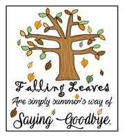 Fall Sayings