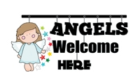 Angel Quotes - Angels Welcome Here