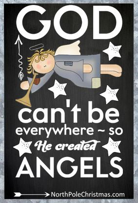8 Angel Sayings with Images - NorthPoleChristmas.com