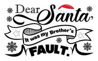 Brother Santa Quote