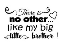 Big Little Brother Saying