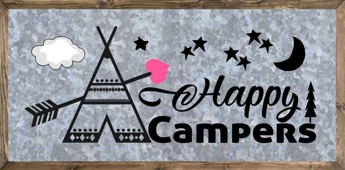 Wilderness Quotes - Camping Sayings - Happy Campers Free