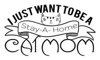Cat Stay-at-Home Quote