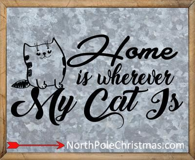Cat Quotes, 28 Cat Sayings, Love, Spoil Quotes, JPG or SVG at NorthPoleChristmas.com
