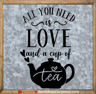 10 Tea Sayings with Images at NorthPoleChristmas.com