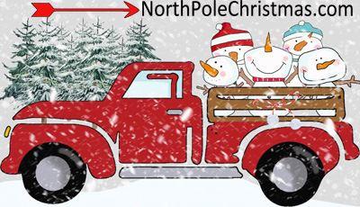 Christmas Truck Clipart - Choose From 15 Christmas Trucks (400 x 230 Pixel)