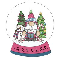 Gnome Happy Snow Globe