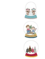 Snow Globe Stationary