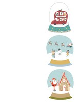 Snow Globe Labels