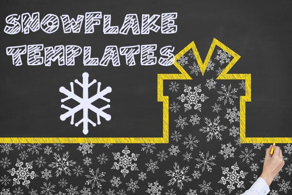Snowflake Templates and Snowflake Templates at NorthPoleChristmas.com