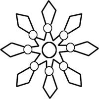 Snowflake Outline