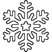 6-sided Snowflake