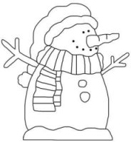 photograph relating to Snowman Patterns Printable named Snowman Template - Pick against 87 No cost Snowman Outlines