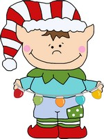 Elf SVG, JPEG, Line Art, Clipart