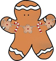 Gingerbread Cookie Clipart