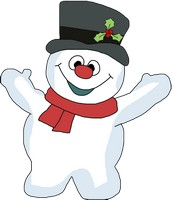 Frosty the Snowman Clipart and SVG file