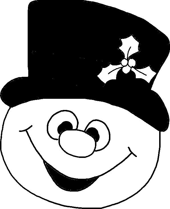 Frosty the Snowman Clipart - Free to Download or Print