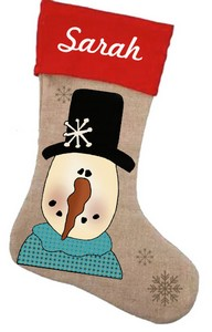 Snowman Stockings Patterns and Graphics