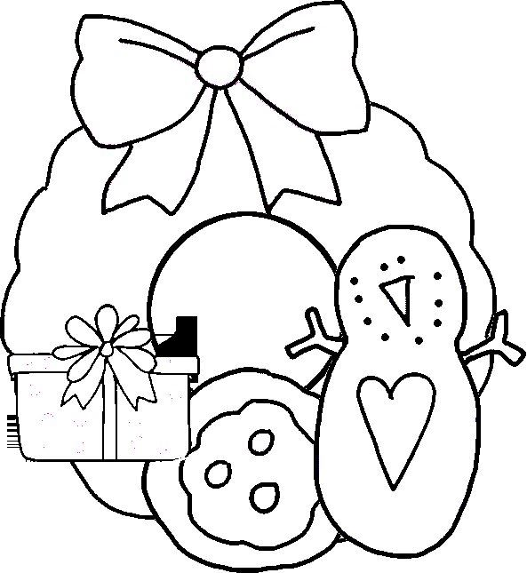Popular Christmas Wreath Clipart