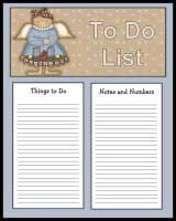 To Do Lists for Christmas