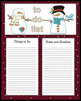 Christmas To Do Lists