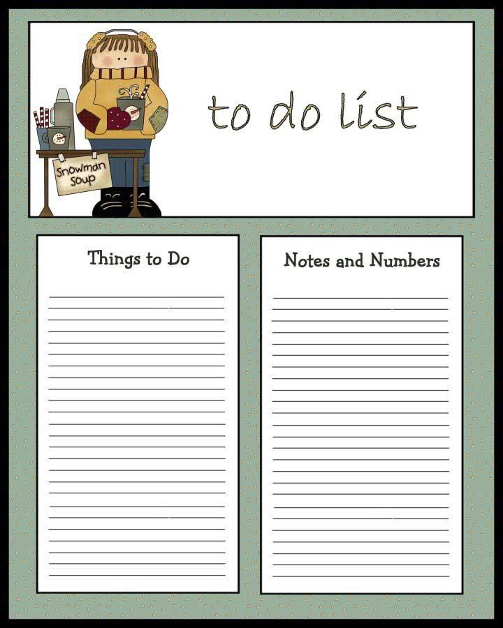 to do list to print christmas