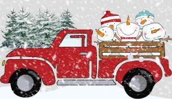 Printable Christmas Trucks at NorthPoleChristmas.com