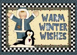 Winter Kids Christmas Cards